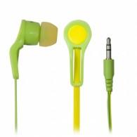 Наушники Ritmix RH-014 вкладыши зел+желт