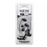 Наушники Panasonic RP-HJE 118GUK вакуумные черные