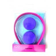 Наушники MP3 К-20 накладные фиол-розов