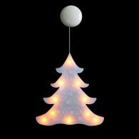 Светильник декоративный Елочка, 10LED тепл белый, (TR-10WW) (3*ААА)