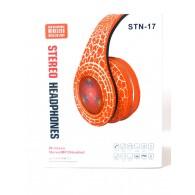 Наушники-плеер STN 17 (Fm, microSD,Bluetooth) с микроф.полноразм.с подсветкой