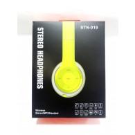 Наушники-плеер STN 19 (Fm, microSD,Bluetooth) с микрофоном полноразмерные