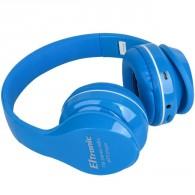 Наушники-плеер Eltronic 4459 (microSD, Bluetooth) с микроф.полноразм.синие