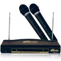 Микрофон Ritmix RWM- 220 беспроводной джек 6,3 мм