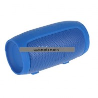 Мини-колонка CH Mini 4+ (Bluetooth\MicroSD) с функцией Power Bank синяя