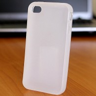 Чехол для iPhone 5 силиконовый белый Mate