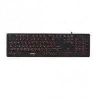 Клавиатура SmartBuy 328 USB черная с подсветкой (SBK-328U-K)