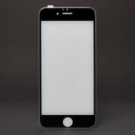 Защитное стекло Activ 3D для iPhone 6 черное, прозр. силик. окантовка