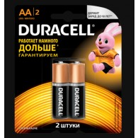 Батарейка Duracell LR6 Basic BL 2/40 (Промо)