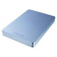 Жесткий диск HDD Toshiba Canvio Alu 1Tb 2.5'' USB 3.0 голубой
