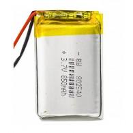 Аккумулятор li-pol 3.7V 850 mAh (80*25*40) литий-полимер