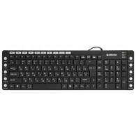 Клавиатура Defender ММ-810 OfficeMate USB черная (45810)