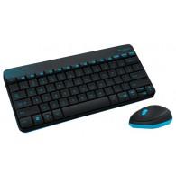 Комплект Logitech MK240 (клавиатура+мышь) беспроводной черный