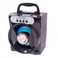 Колонка портативная MS-230BT (Bluetooth/USB /SD/FM) черная