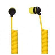 Наушники SmartBuy SBE-2020 UFO желтые витой кабель