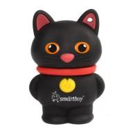 Флэш-диск SmartBuy 16GB USB 2.0 Котёнок Черный