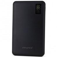 Внешний аккумулятор 30000mAh AWEI P56K 3USB\дисплей