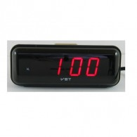 Часы электронные 738 (220V+2*ААА, крас.цифры)