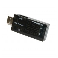 Тестер USB-порта KWS-10VA (0-3A, 3-20V)