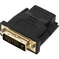 Переходник HDMI (F) - DVI (M) SmartBuy