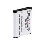 Аккумулятор в/к. Relato EN-EL19 (660mAh 3,7v) Li-ion для Nikon