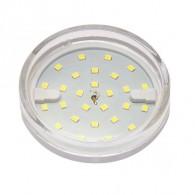 Лампа светодиодная Jazzway PLED-ECO GX53 6W 3000K 510Lm прозрачная
