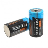 Аккумулятор Robiton R20 10000mAh BL2