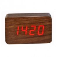 Часы настольные VST-863-1 крас.цифры, кор.корпус (дата, темп., будильник,4*ААА)
