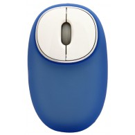 Мышь Ritmix ROM-340 USB голубая антистресс