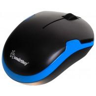 Мышь SmartBuy SBM-355AG-KB беспровод.черная-голубая