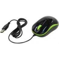 Мышь SmartBuy SBM-343 KN оптическая USB черн/зеленая