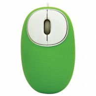 Мышь Ritmix ROM-340 USB зеленая антистресс