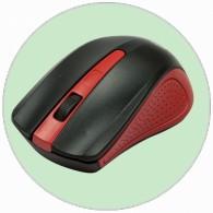 Мышь Ritmix RMW-555 беспроводная черно-крас