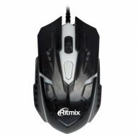 Мышь Ritmix ROM-311 USB игровая черная\40