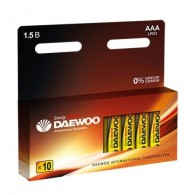 Батарейка Daewoo LR03 Pack-10/120/480