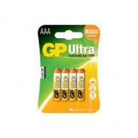 Батарейка GP LR03 Ultra Alkaline BL 4/40