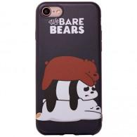 "Чехол для iPhone 7\8 ""Медвежата"" (76475, 76476,76477)"