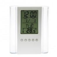 Часы электронные (дата, будильник, термометр, влажность) (2590505)