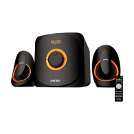 "Колонки Perfeo 2.1 ""Mars"" (22W+2*15W) FM, Bluetooth,USB,SD, ПДУ (PF-3313)"
