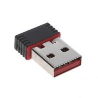 Адаптер USB Wi-Fi Mini 802.11 n 150Mbps (подходит к цифровым приставкам)