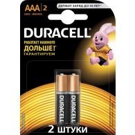 Батарейка Duracell LR03 Basic BL 2/20 (Промо)
