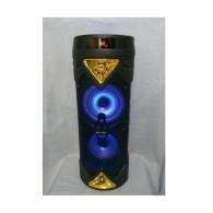Колонка портативная 2*6.5 (ZSQ-6203) (Bluetooth/USB /FM/ микрофон/пульт)золото