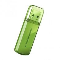 Флэш-диск Silicon Power 4 GB USB 2.0 Helios 101 зеленый