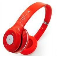 Наушники-плеер S460 красные (Fm, microSD,Bluetooth)