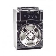 Колонка портативная KTS-1069B (USB\microSD\Bluetooth) серебро