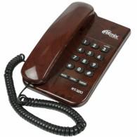 Телефон проводной Ritmix RT-320 темное дерево