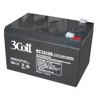 Аккумулятор для бесперебойника 3Cott 12V 12Ah