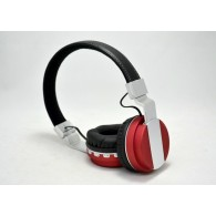 Наушники-плеер BT-008 черно-крас (Bluetooth)