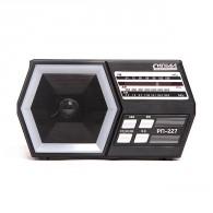 Радиоприемник Сигнал РП-227 (FM, USB,SD, 220V,2*R20, акб 1200мА\ч)