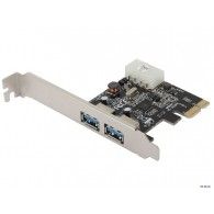 Контроллер Orient PCI-E VL-3U2PE PCIe to 2 port USB 3.0 oem